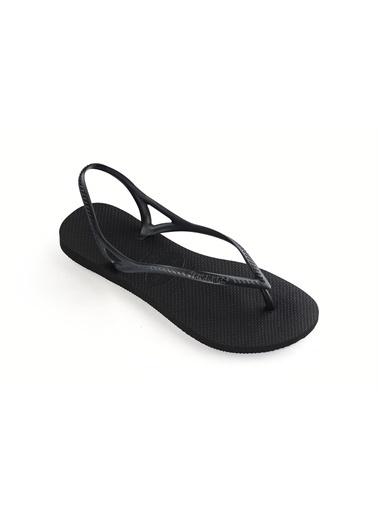 Havaianas Spor Sandalet Siyah